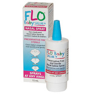 Flo Baby Saline + Nasal Drop 15ml