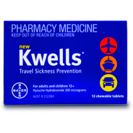 Kwells Chewable 12 Tablets