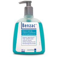Benzac Daily Facial Liquid Cleanser 300ml