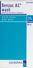 Benzac Acne Wash 5 200ml