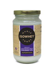 IsoWhey Wholefoods Organic Cold Pressed Coconut Oil 300mL