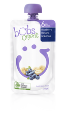 Organic Bubs Blueberry Banana & Quinoa 120g (Stage 2)
