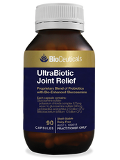 Bioceuticals UltraBiotic Joint Relief 90 Capsules