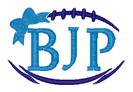 Football Bow Monogram