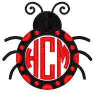 Ladybug Monogram