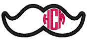 Copy of Circle Monogram with Antlers