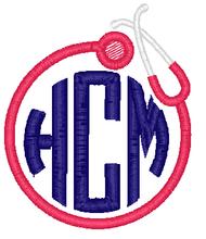Stethoscope Monogram