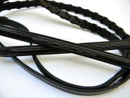 C&C Fancy Stitch Single Laced Reins