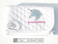 Custom - #UnicornInTraining Baby Pad