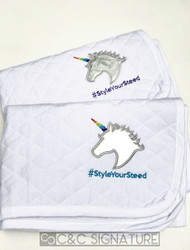 Custom - Unicorn #StyleYourSteed Baby Pad