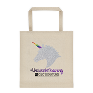 #UnicornInTraining Tote bag