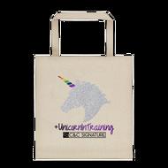 #UnicornInTraining Tote bag