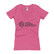 GTW Logo - Women's V-Neck T-shirt