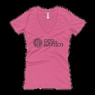 GTW Logo - Women's V-Neck T-shirt