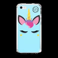 Unicorn Princess Baby Blue - iPhone Case