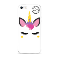 Unicorn Princess White iPhone Case