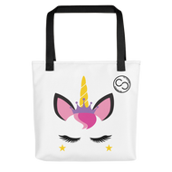 Unicorn Princess White Tote bag
