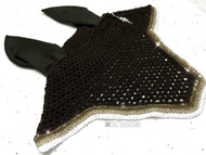"""Chocolate """"Upperville"""" with ombre trim"""