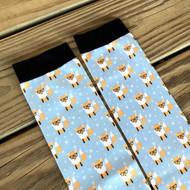 Hipster Fox Boot Socks