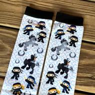 Pony Ninja Princess Boot Socks