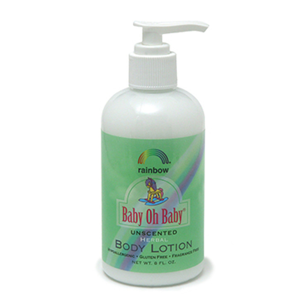 Baby Body Lotion  Unscented 8oz & 16oz