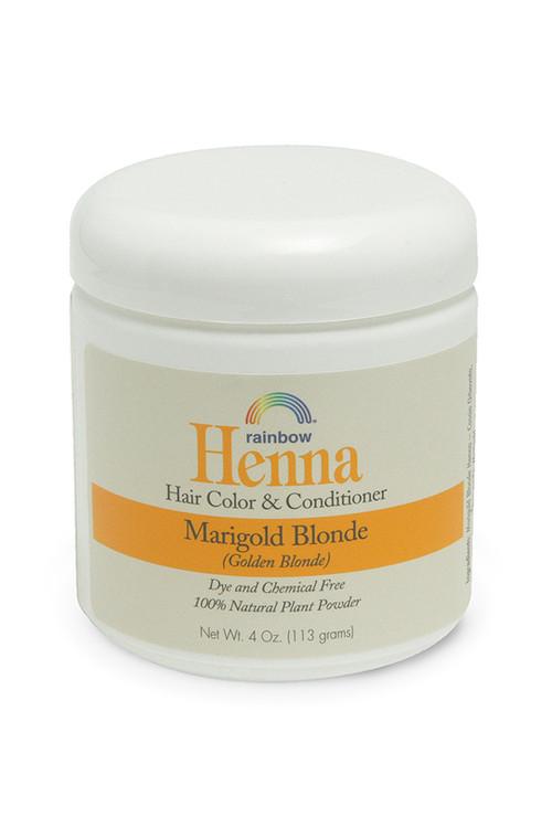 Henna Marigold Blonde 4oz,17oz,34oz.