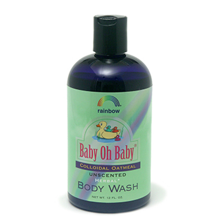 Baby Body Wash Colloidal Oatmeal  Unscented 12oz