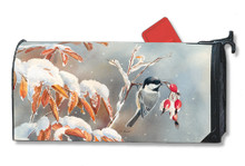 Winter Day Chickadees MailWrap