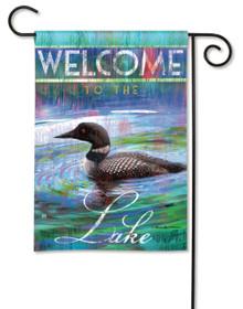Loon Lake Garden Flag