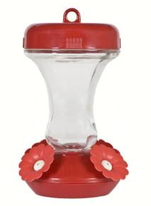 8 oz Top-Fill Glass Hummingbird Feeder