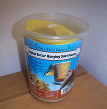 1.75 lb Suet Peanut Butter Bell with Net