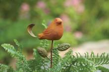 Ceramic Bird Plant Pick Spice