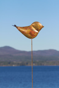 Bird Flamed Copper Staked KD