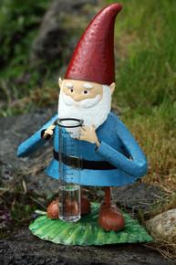 Garden Gnome Tabletop Rain Gauge