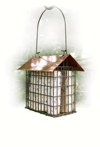 Copper Top Double Suet Cage