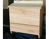 5 Chamber Bat House.  Designed by the Organization for Bat Conservation. Made of weather-resistant cedar.