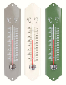 Metal Thermometer Assorted Colors