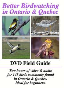 Better Birdwatching in Ontario & Quebec- DVD Field Guide