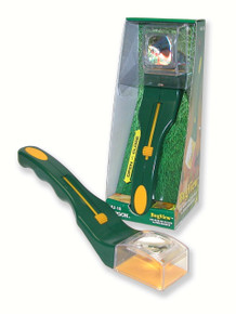 One Hand Bug Catcher with 5x Magnifier Outdoor Green