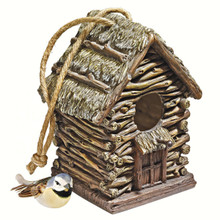 Backwoods Cottage Birdhouse