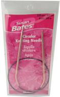 "Susan Bates Silvalume 24"" Circular Knitting Needle (Size US 4 - 3.5 mm)"