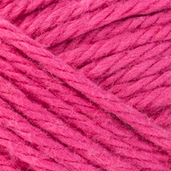 Red Heart Brite Pink Scrubby Smoothie Yarn (4 - Medium)