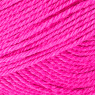 Red Heart Bright Pink Fashion Soft Yarn (3 - Light)
