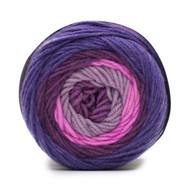 Bernat Violets Super Value Big Stripes Yarn (4 - Medium)