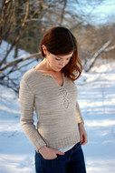 Never Not Knitting Patterns Cabled Leaf Pullover