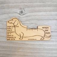 Katrinkles Dachshund Dog Wraps Per Inch Tool