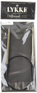 "LYKKE Driftwood 24"" Circular Knitting Needle (Size US 9 - 5.5 mm)"