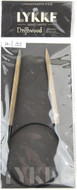 "LYKKE Driftwood 24"" Circular Knitting Needle (Size US 10 - 6 mm)"