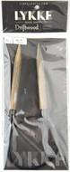 "LYKKE Driftwood 32"" Circular Knitting Needle (Size US 15 - 10 mm)"