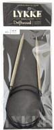 "LYKKE Driftwood 40"" Circular Knitting Needle (Size US 9 - 5.5 mm)"
